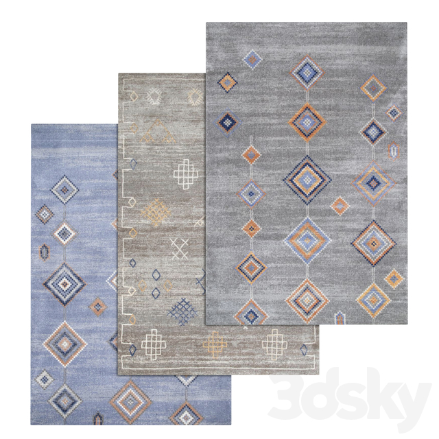Carpets Set 1445