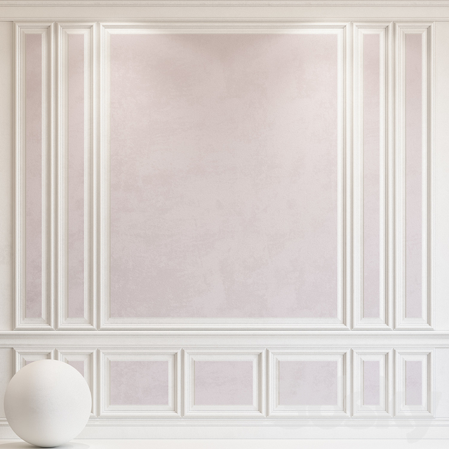 Decorative plaster with molding 67