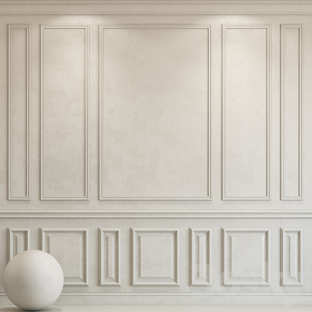 Decorative plaster with molding 80