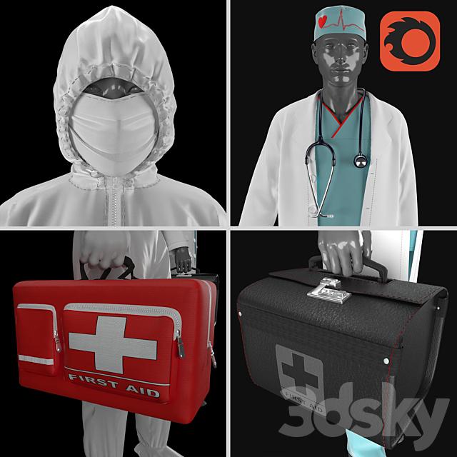 paramedic Corona Insulated Clothing nurse