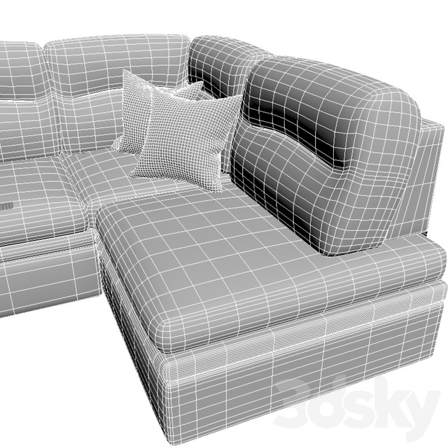 "Corner sofa ""Chiara"""
