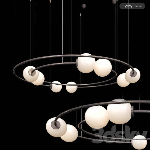 Chandelier Oddments Dual by Romatti
