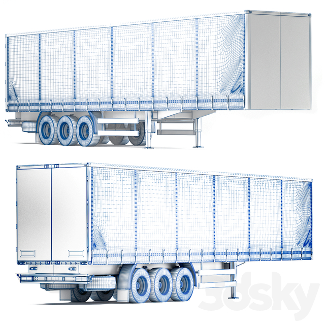 Truck back