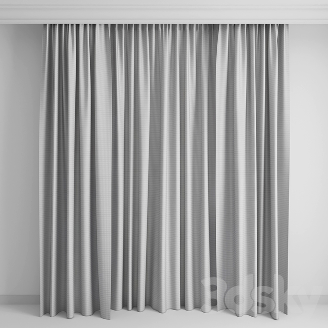 Curtains with a border1