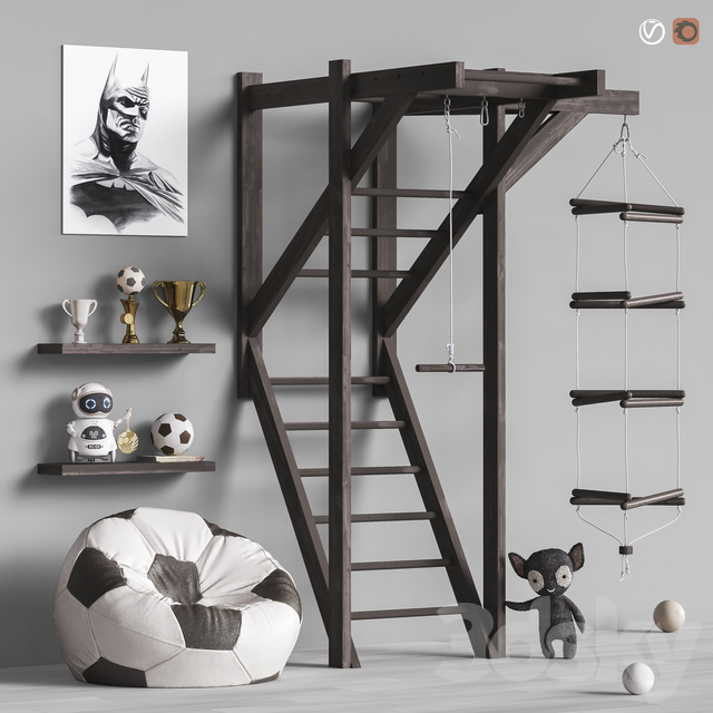 Toys and furniture set 80