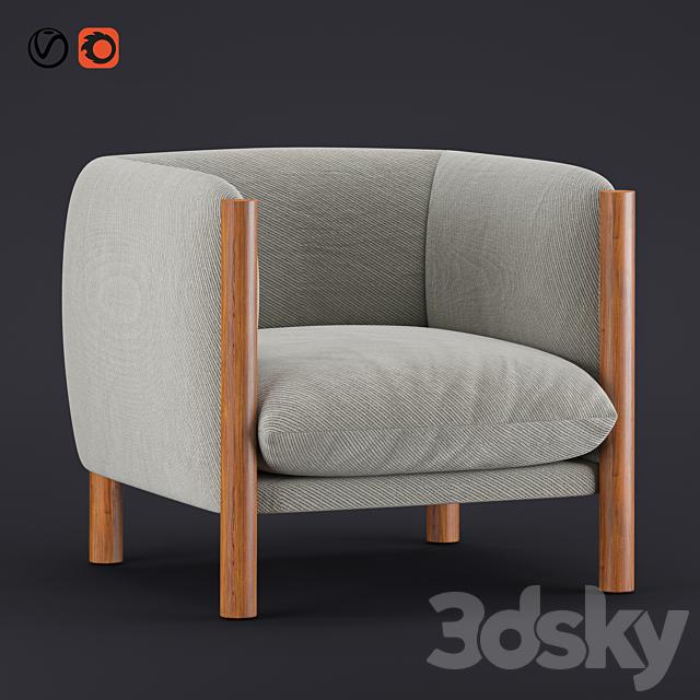 Kelly Wearstler Hesby Club Chair