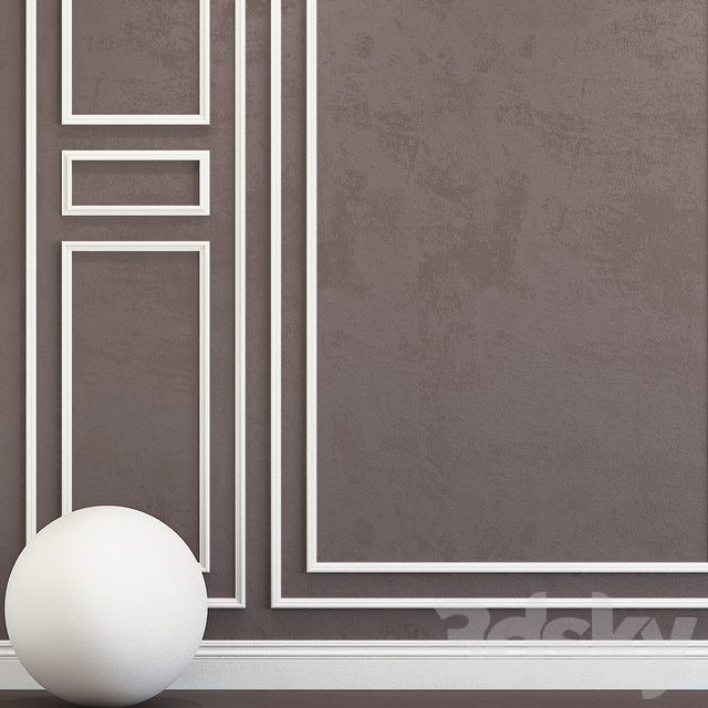 Decorative plaster with molding 88
