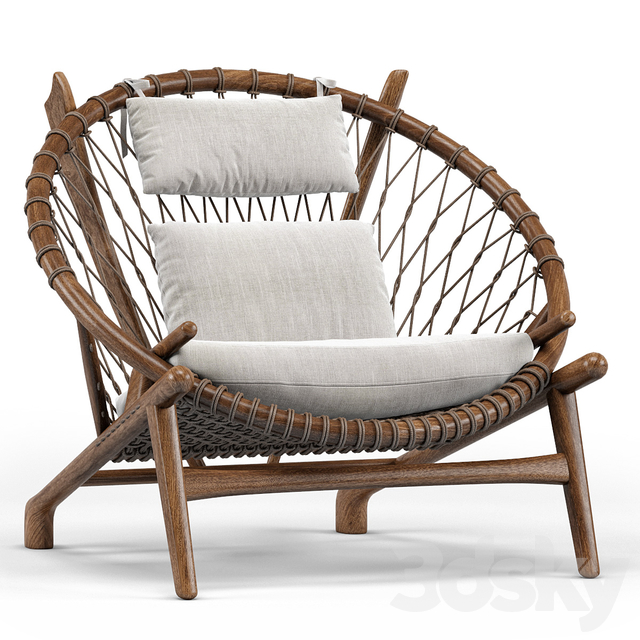 Dovetail Bison Occasional Chair