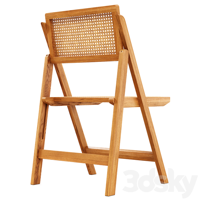 Zara Home - The rattan and wood folding chair