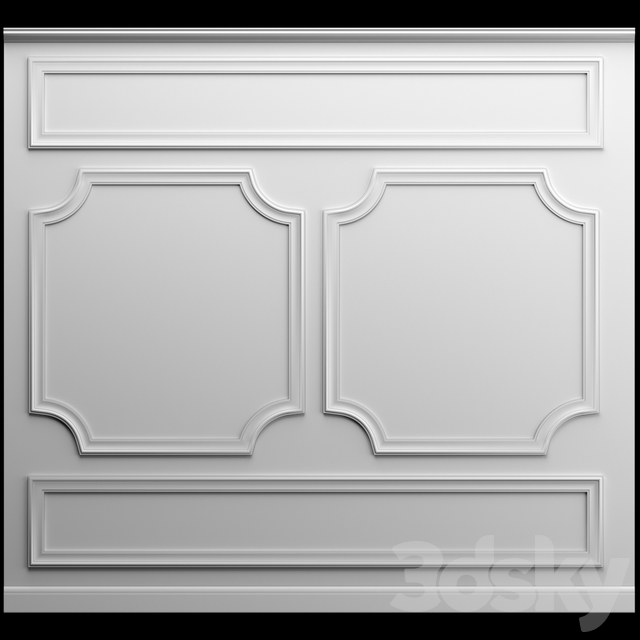 Wall panel - gypsum stucco