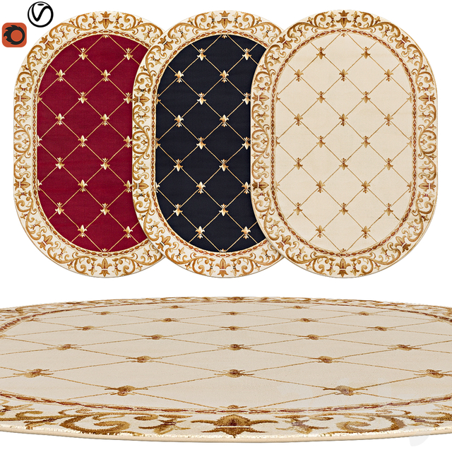 oval rugs | 16