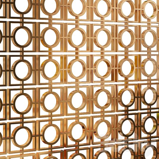Decorative partition 57