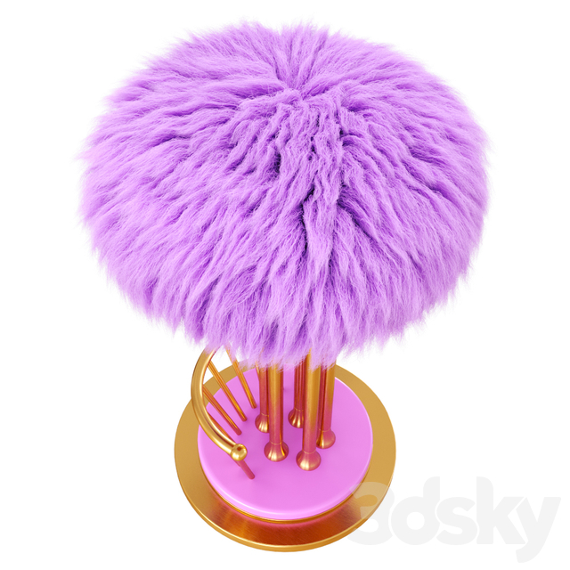 Fur Andy Bar Stool