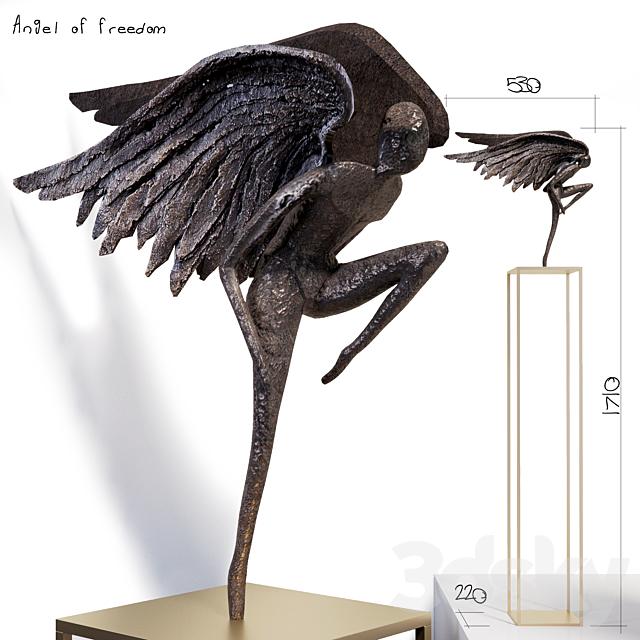 Spiritual sculpture - Angel of freedom