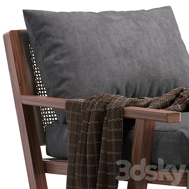 Coco Republic Bari Outdoor Lounge Chair