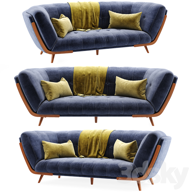 Studio Fabric Sofa