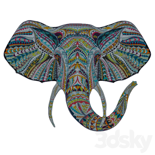 Picture of a tree etno elephant