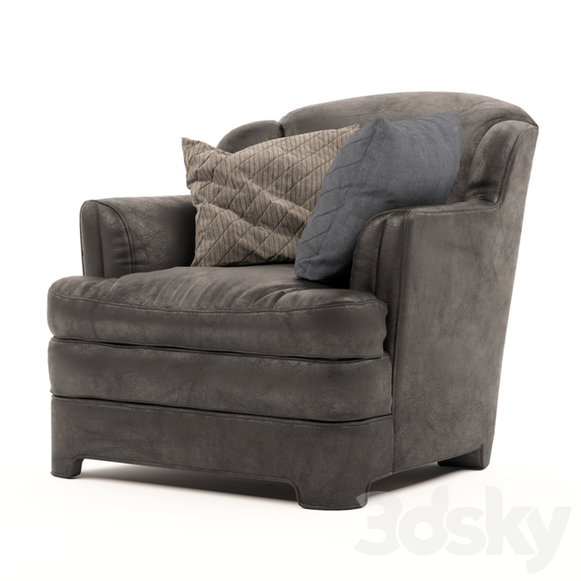 Relax leather armchair