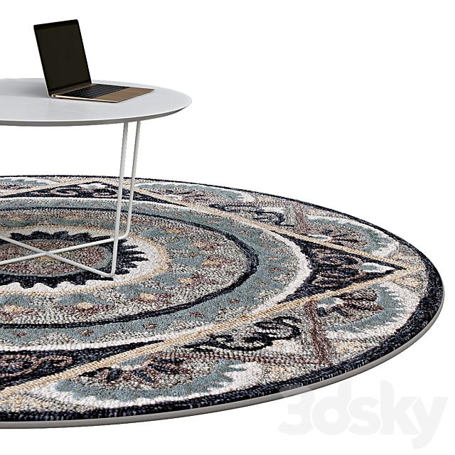 Circle rugs | No. 077