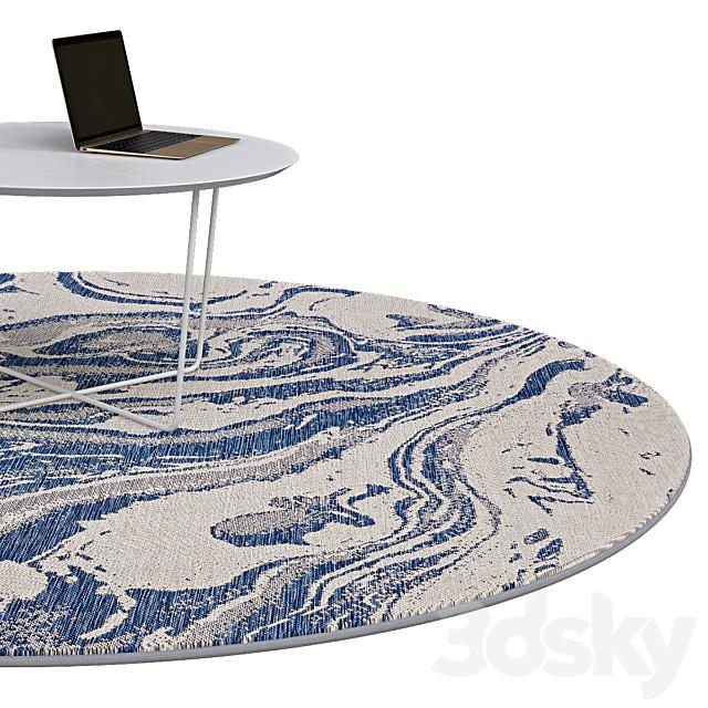 Circle rugs | No. 080