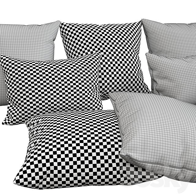 Decorative pillows, 66