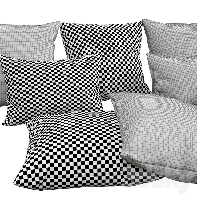 Decorative pillows, 68