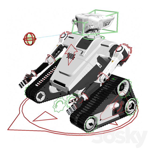 Robot Rt model 1.0 High-Poly