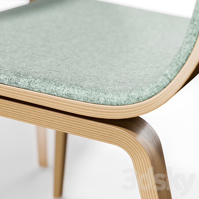 Arper AAVA 4 WOOD LEGS and Dizzy Table