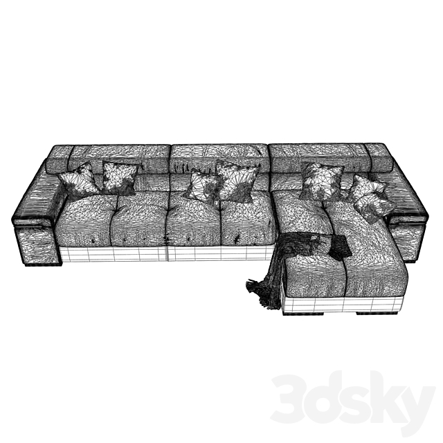Sofa 458 - Natuzzi_Avana