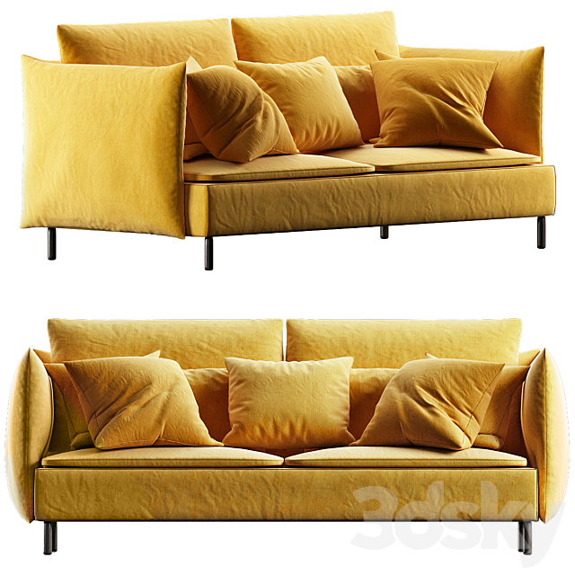 Modern Sofa Styles small Living room №7