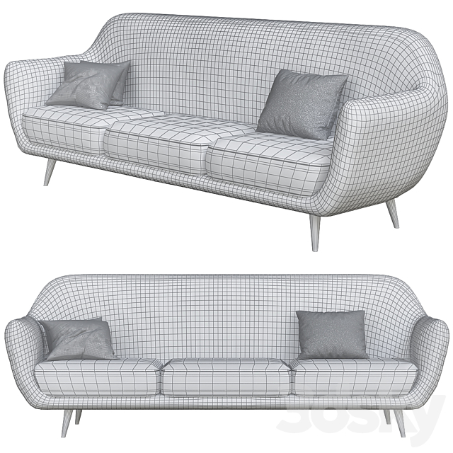 Modern Sofa Styles small Living room №8