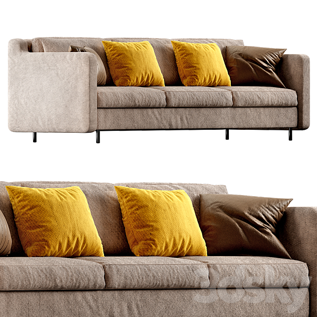 Modern Sofa Styles small Living room №4