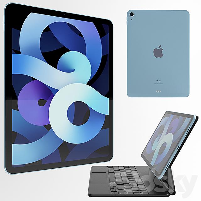 Ipad Air All Colors and Magic Keyboard