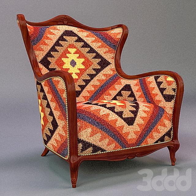 Armchair - kilim