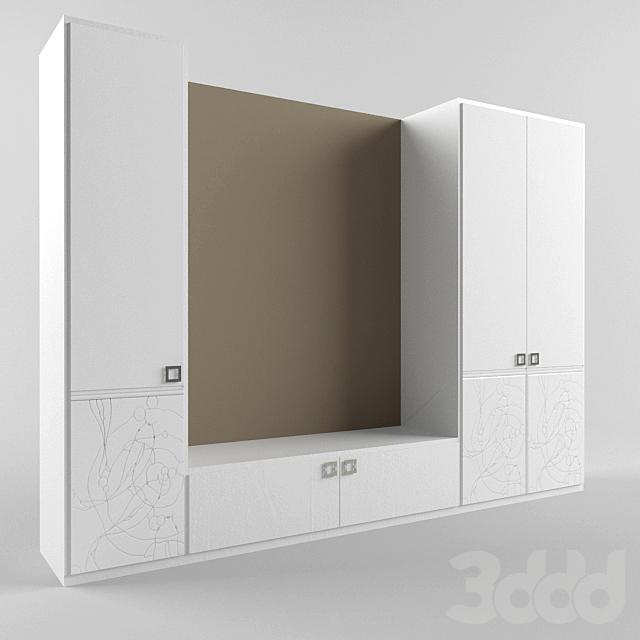 Шкафы с рисунком