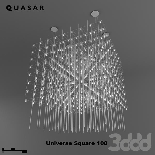 Quasar / Universe Square 100