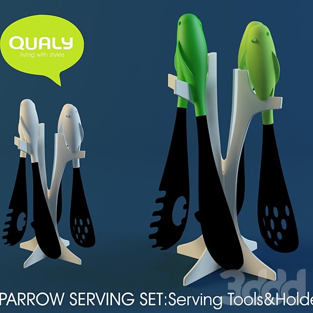 Qualy / Sparrow serving set