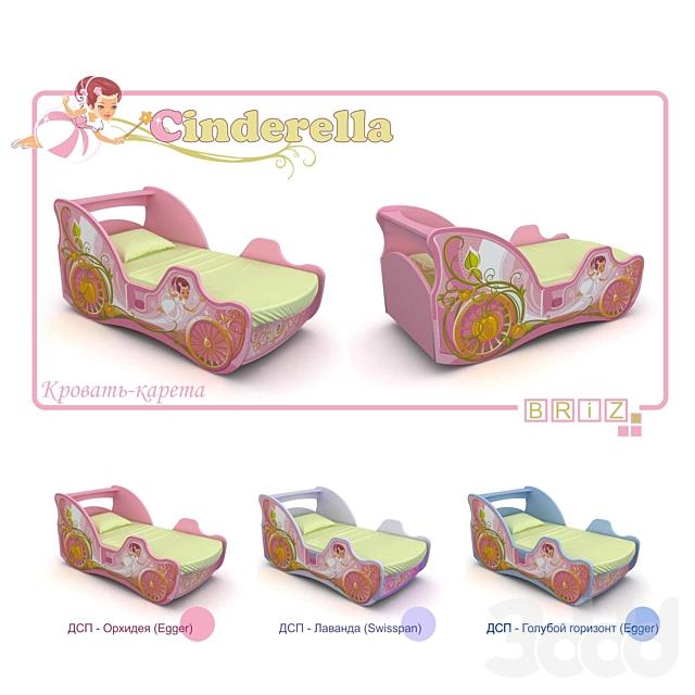 Кровать-карета детская