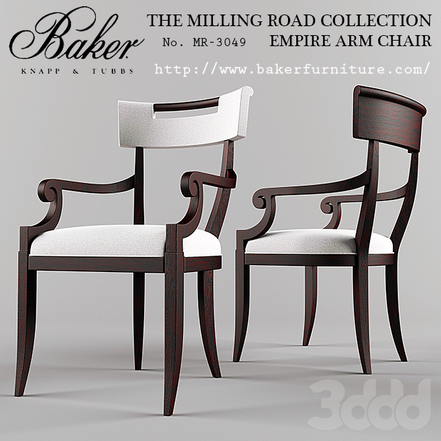 Baker / Empire Arm Chair