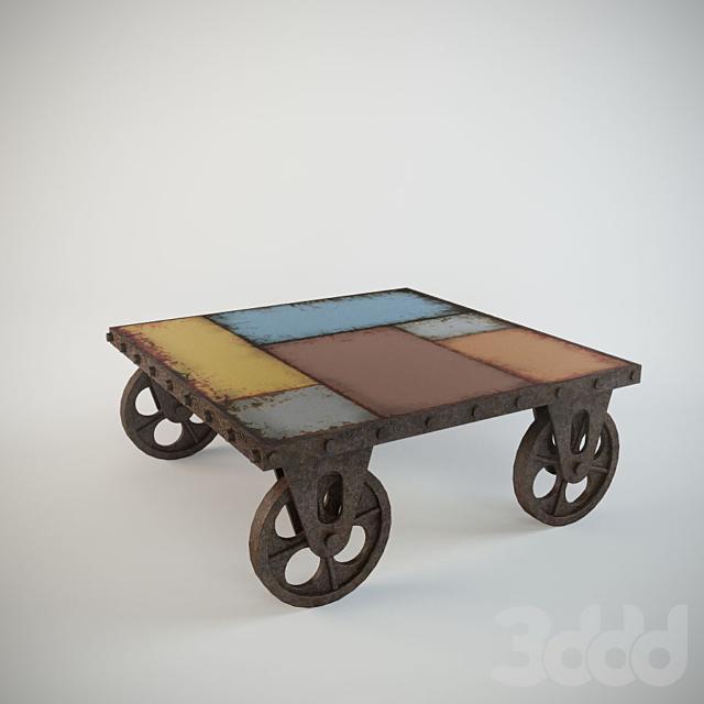 Dialma brown DB002483 coffee table