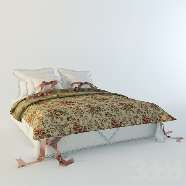 Bed for the English house