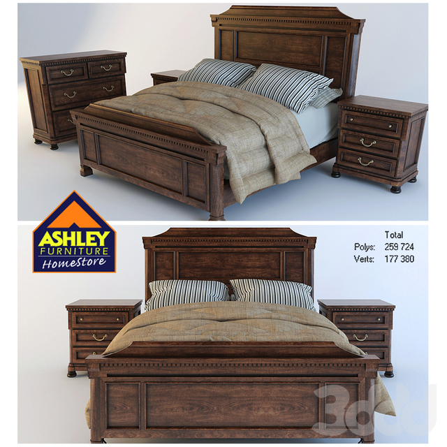 Ashley bed 2