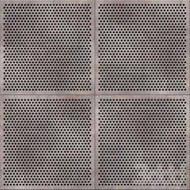 Панели металлические перфорированные