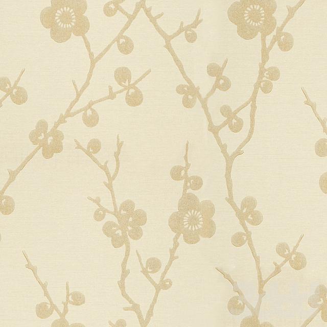 Harlequin Blossom Wallpaper, Gold 75304
