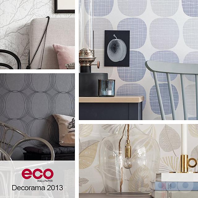 Обои ECO Wallpaper, коллекция Decorama 2013
