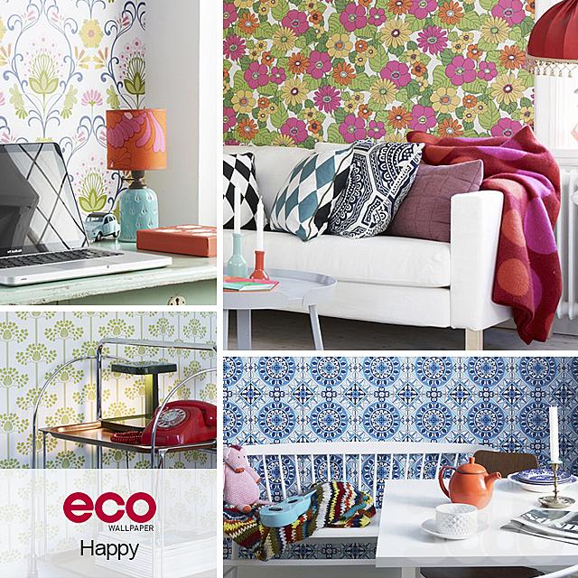 Обои ECO Wallpaper, коллекция Happy