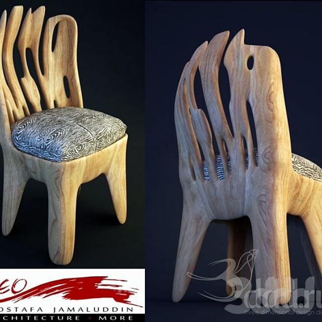 iNeo futuristic chair 01