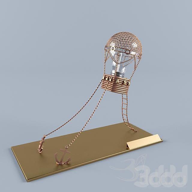 Ballon Taple Lamp