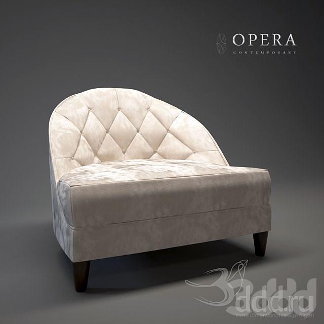 Opera Dalila Arm Chair