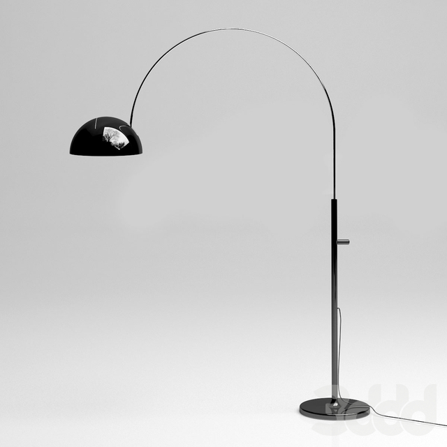 Floor lamp oluce coupe 3320